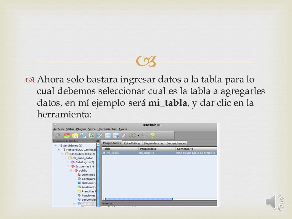 En la parte inferior de la ventana, específicamente en el panel SQL, se puede observar el código SQL, relacionado con la adicción de columnas y de la