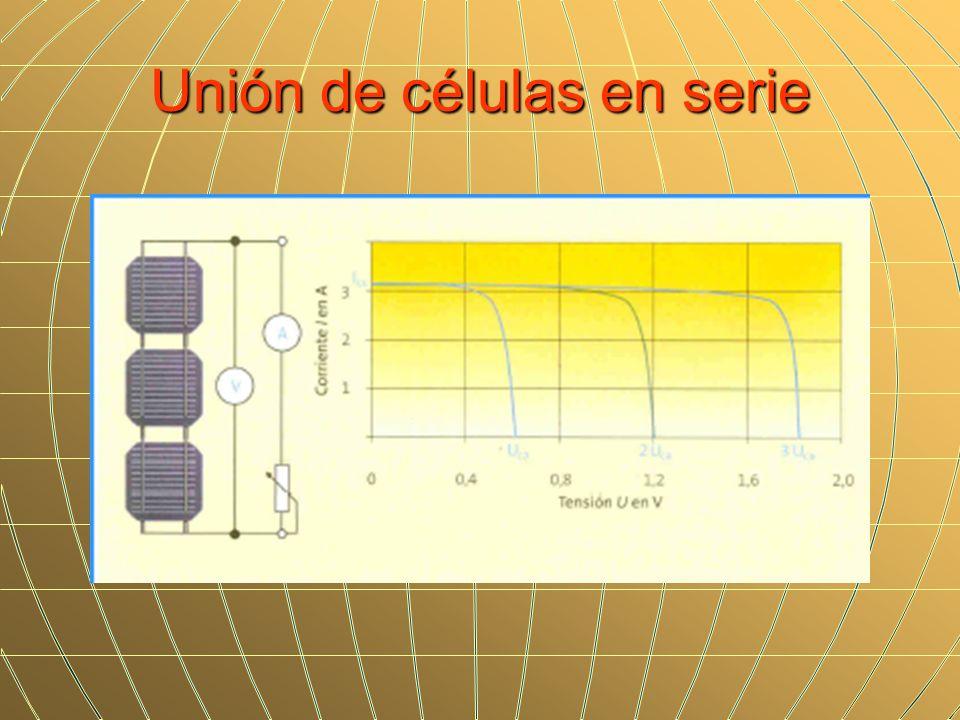 Unión de células en serie