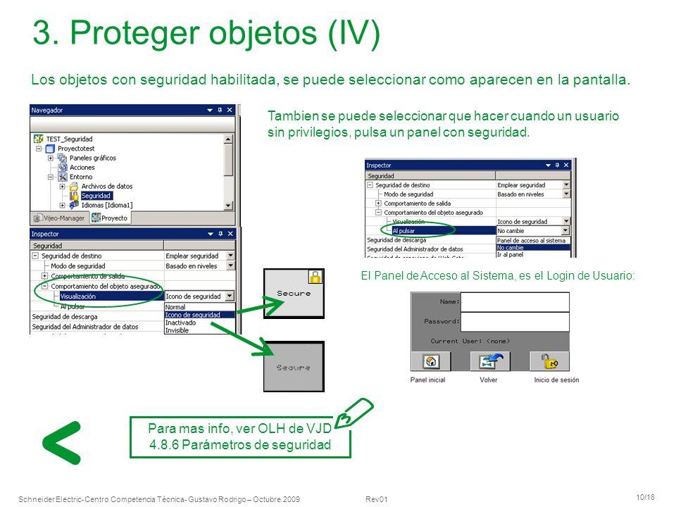 Schneider Electric 10/16 -Centro Competencia Técnica- Gustavo Rodrigo – Octubre.2009 Rev01 3.