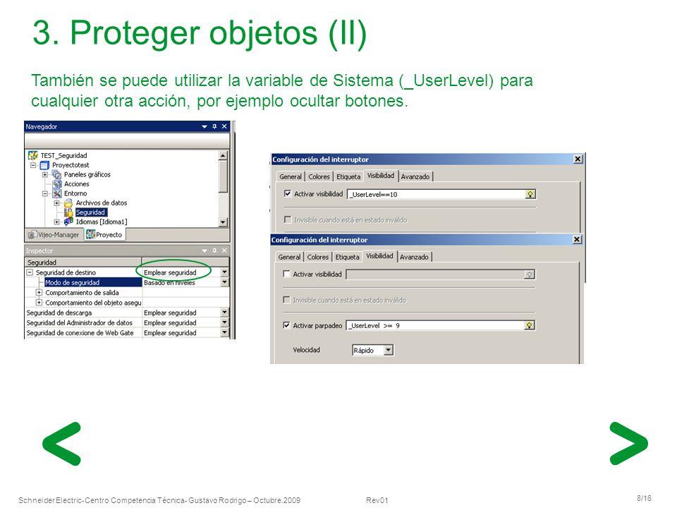 Schneider Electric 9/16 -Centro Competencia Técnica- Gustavo Rodrigo – Octubre.2009 Rev01 3.
