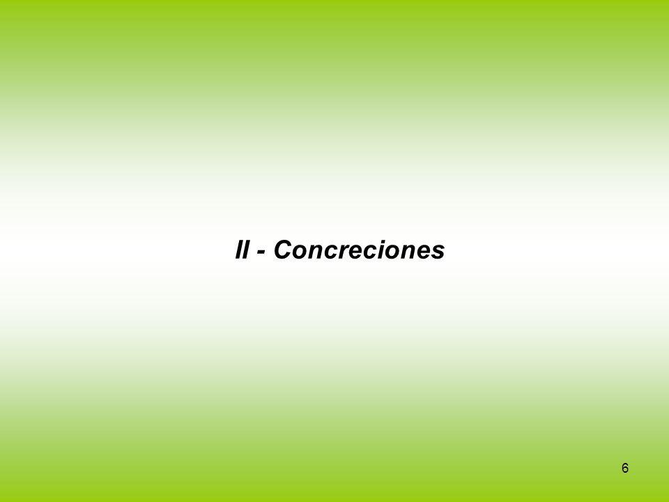 6 II - Concreciones