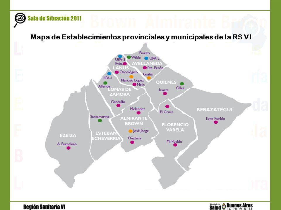 Partido Total Provinciales Cama s MunicipalesNacionales Camas Privado Camas Establec.