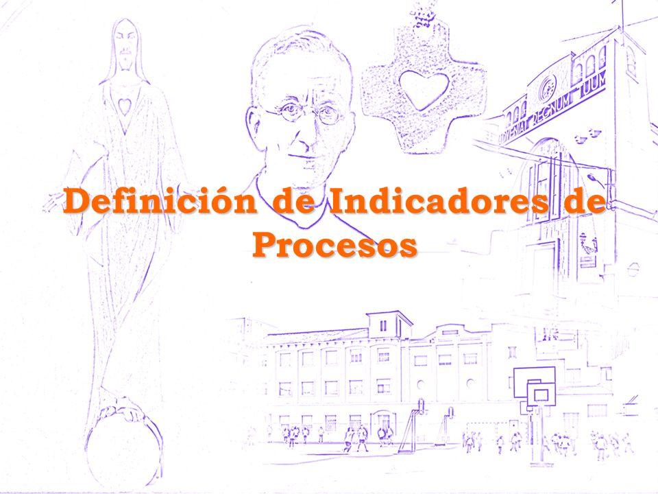 Definición de Indicadores de Procesos