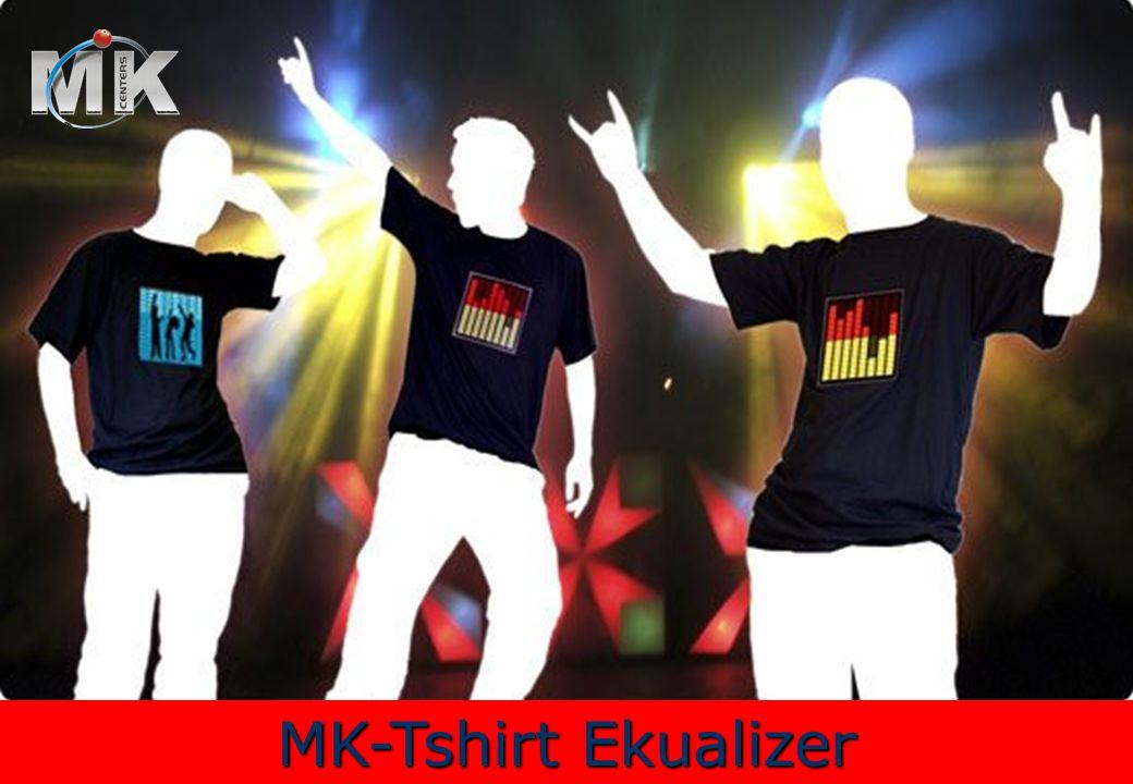 MK-Tshirt Ekualizer ¡Transfórmate en una caja de ritmos.