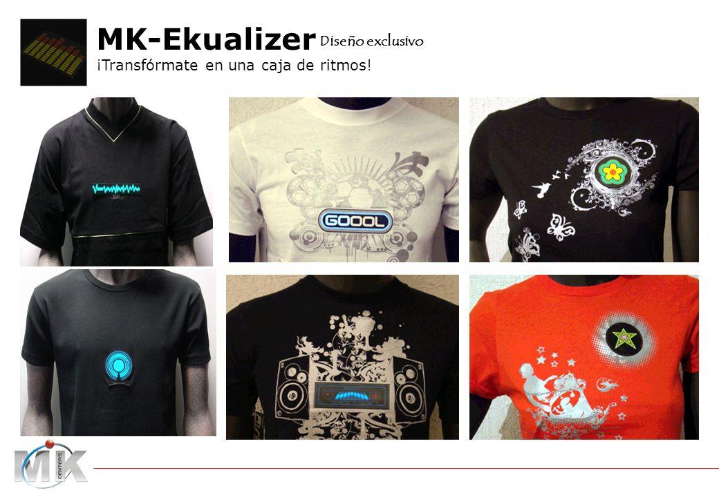 catalogo MK-Tshirt Ekualizer MK-Ekualizer ¡Transfórmate en una caja de ritmos! Diseño exclusivo