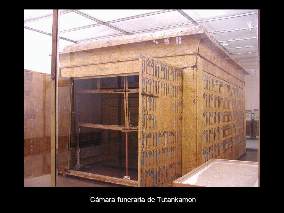 Cámara funeraria de Tutankamon