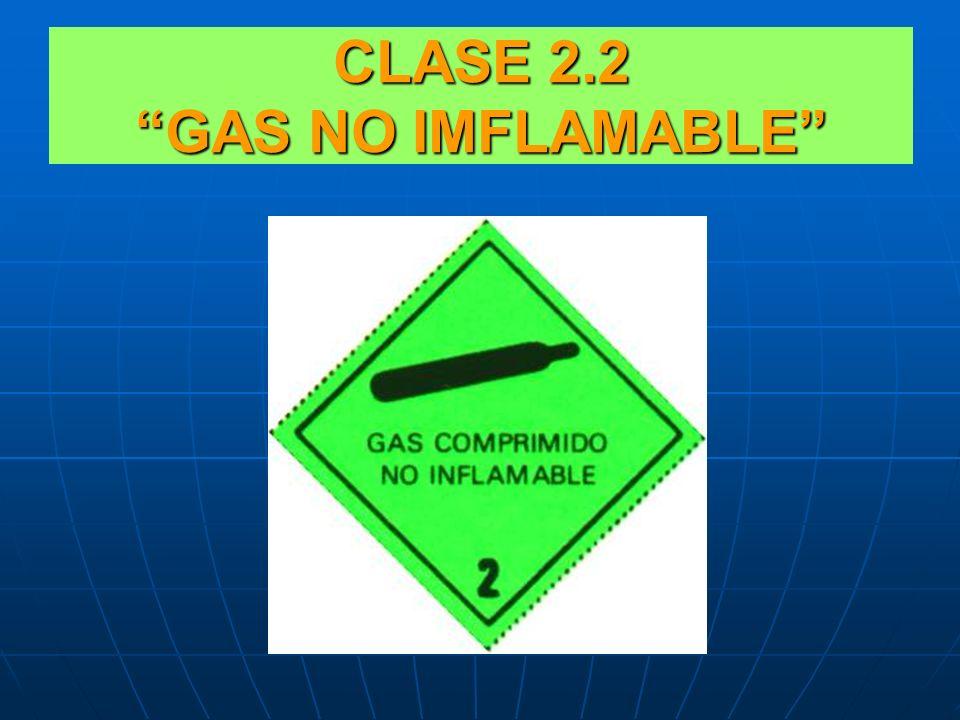CLASE 2.1 GAS INFLAMABLE CLASE 2.1 GAS INFLAMABLE