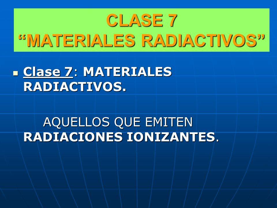 En esta clase se presenta la subclasificación de los plaguicidas conforme al riesgo de toxicidad, encontrando entre ellos en el Grupo de Embalaje III