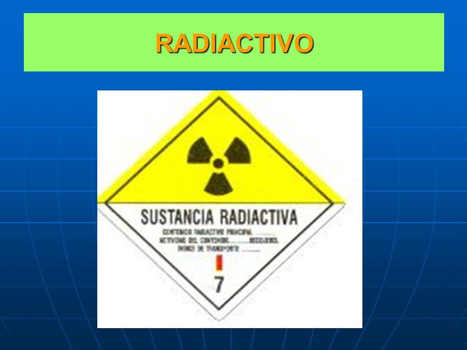 CLASE 7 MATERIALES RADIACTIVOS Clase 7: MATERIALES RADIACTIVOS. Clase 7: MATERIALES RADIACTIVOS. AQUELLOS QUE EMITEN RADIACIONES IONIZANTES. AQUELLOS