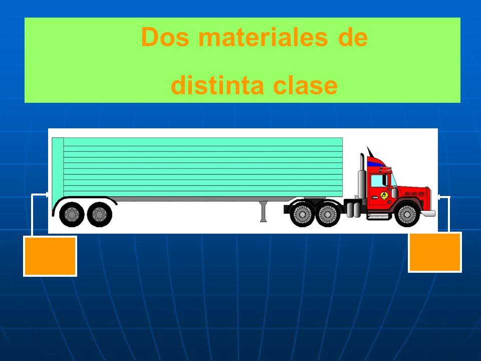 Dos materiales de la misma clase