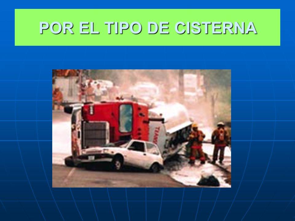 POR EL TIPO DE CISTERNA