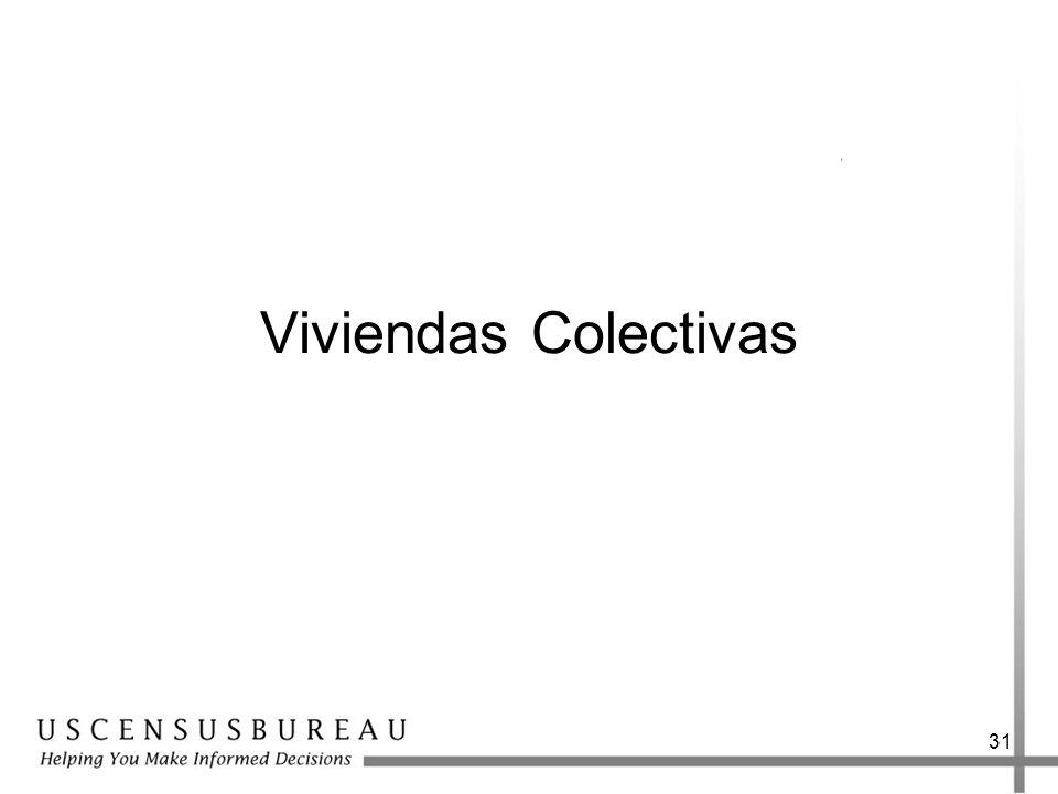 31 Viviendas Colectivas