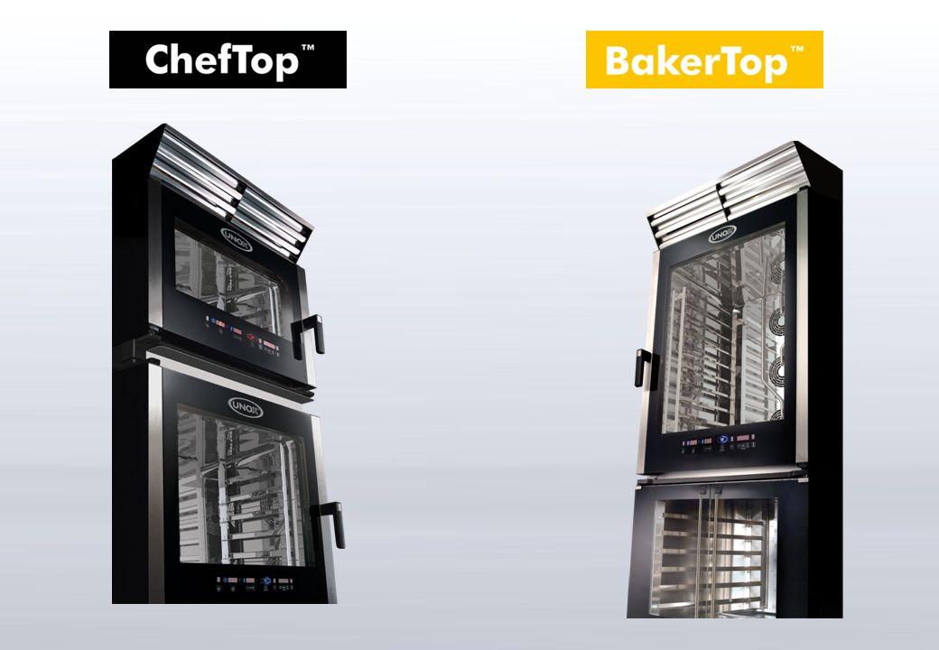 Panel de control digital ChefTouch & BakerTouch El panel de control digital ha sido diseñado y personalizado para permitir un uso fácil y veloz del horno.