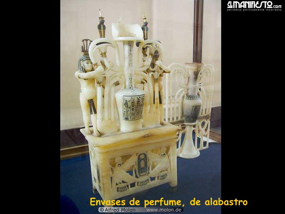 Envases de perfume, de alabastro