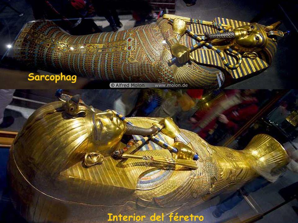 Interior del féretro Sarcophag