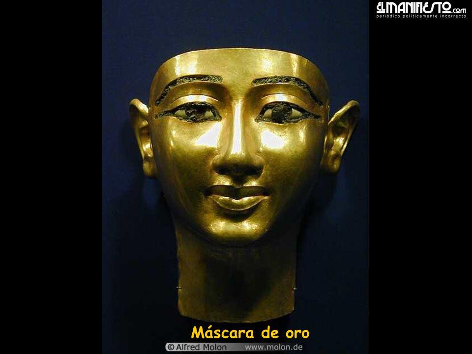 Máscara de oro