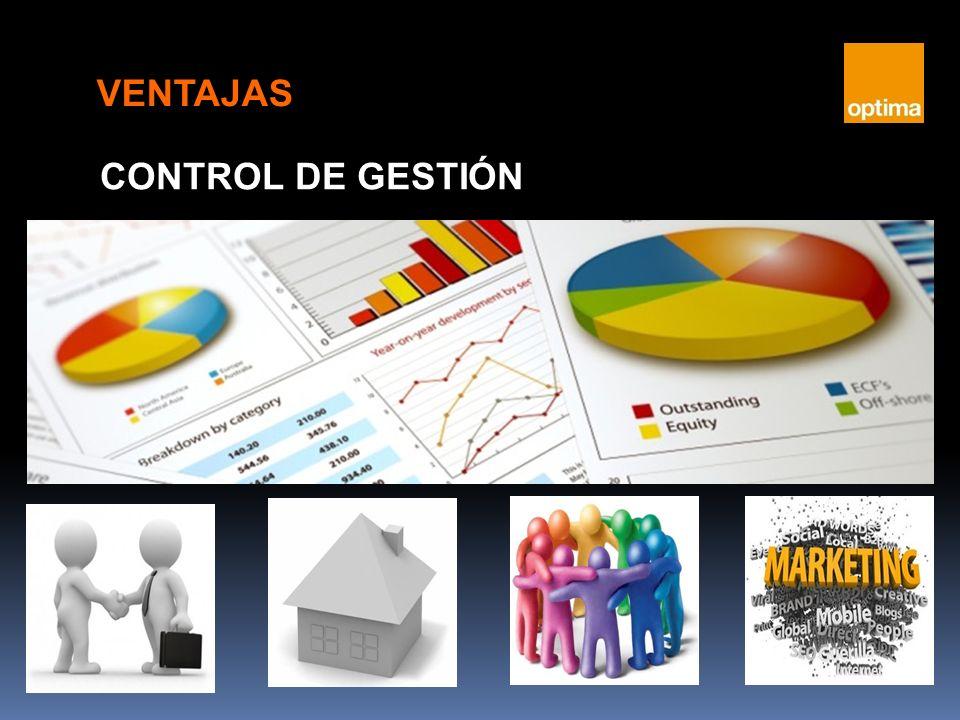 CONTROL DE GESTIÓN VENTAJAS