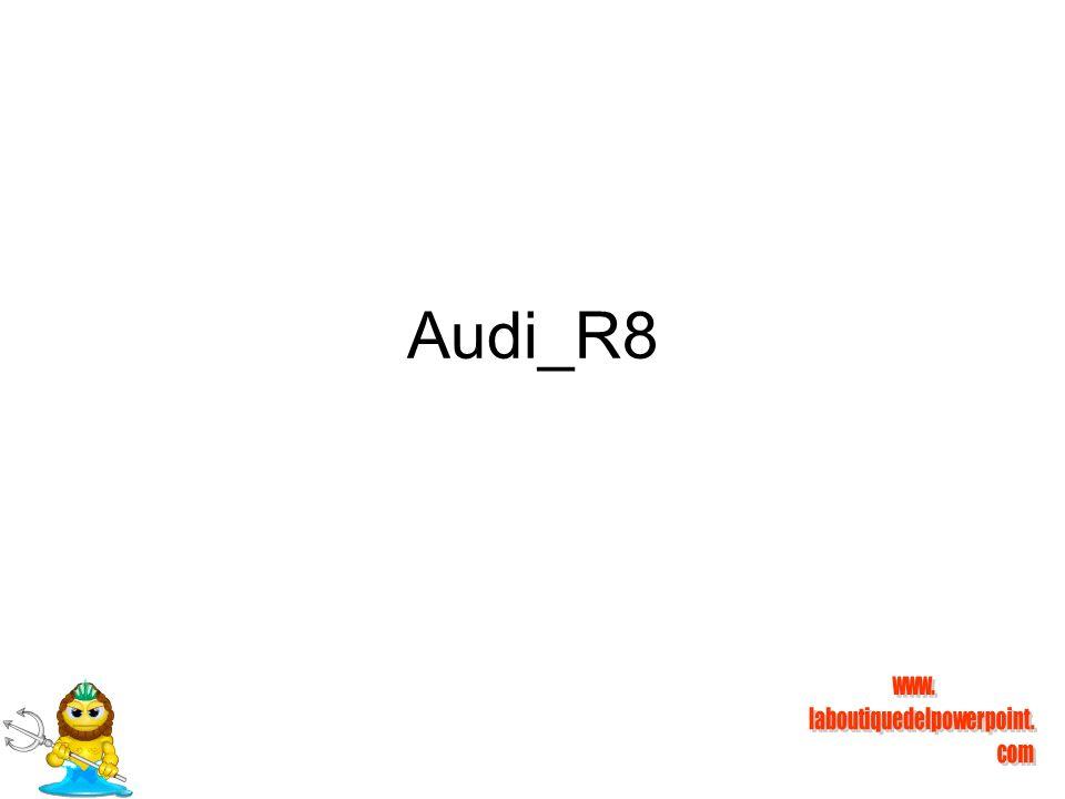 El Audi R8 ya es oficial y estará disponible a partir de primer semestre de 2007.