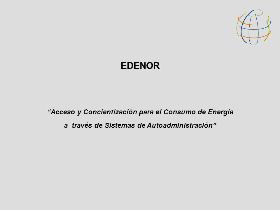 EDENOR Acceso y Concientización para el Consumo de Energía a través de Sistemas de Autoadministración