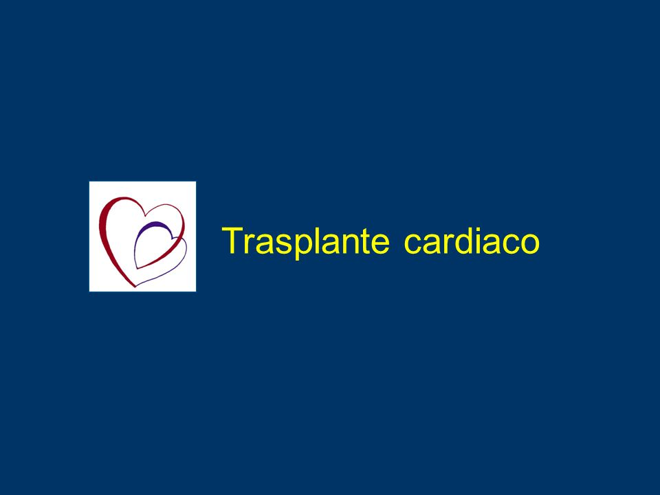 Complicación%n HTA953.776 Disfunción renal 183.776 Dislipidemia813.899 Diabetes323444 Vasculopatía332376 UNOS 2002 Morbilidad post-TC en Adultos Incidencia acumulativa a los 5 años (Abril 1994-Dic 2001) Trasplante cardiaco.