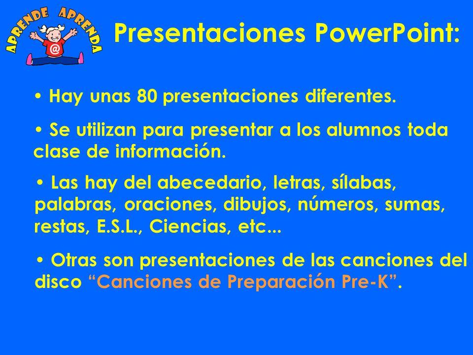 Presentaciones PowerPoint: