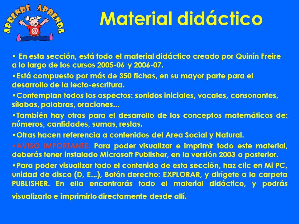 Material Didáctico: