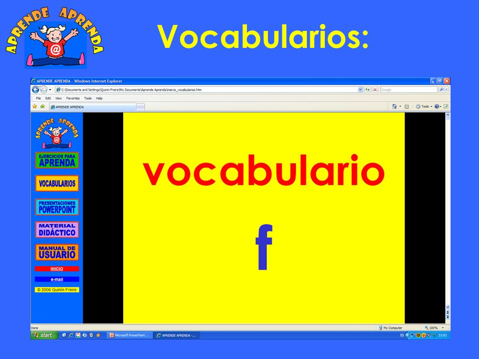 Vocabularios: