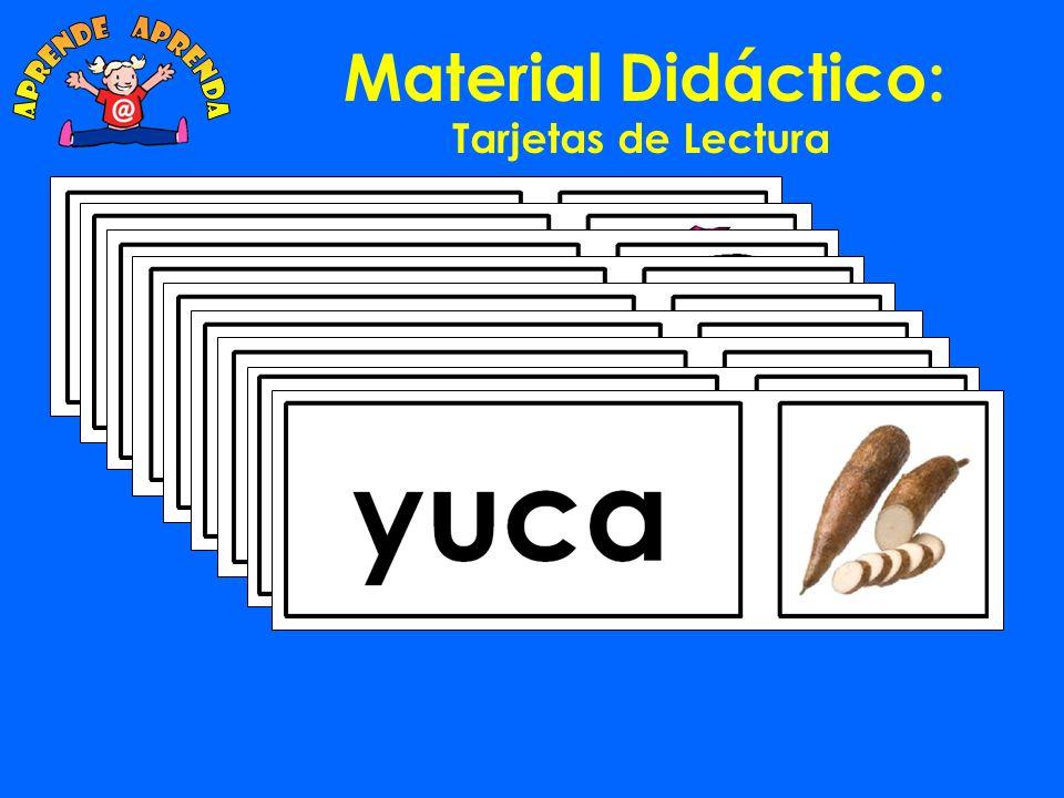 Material Didáctico: Tarjetas de Lectura