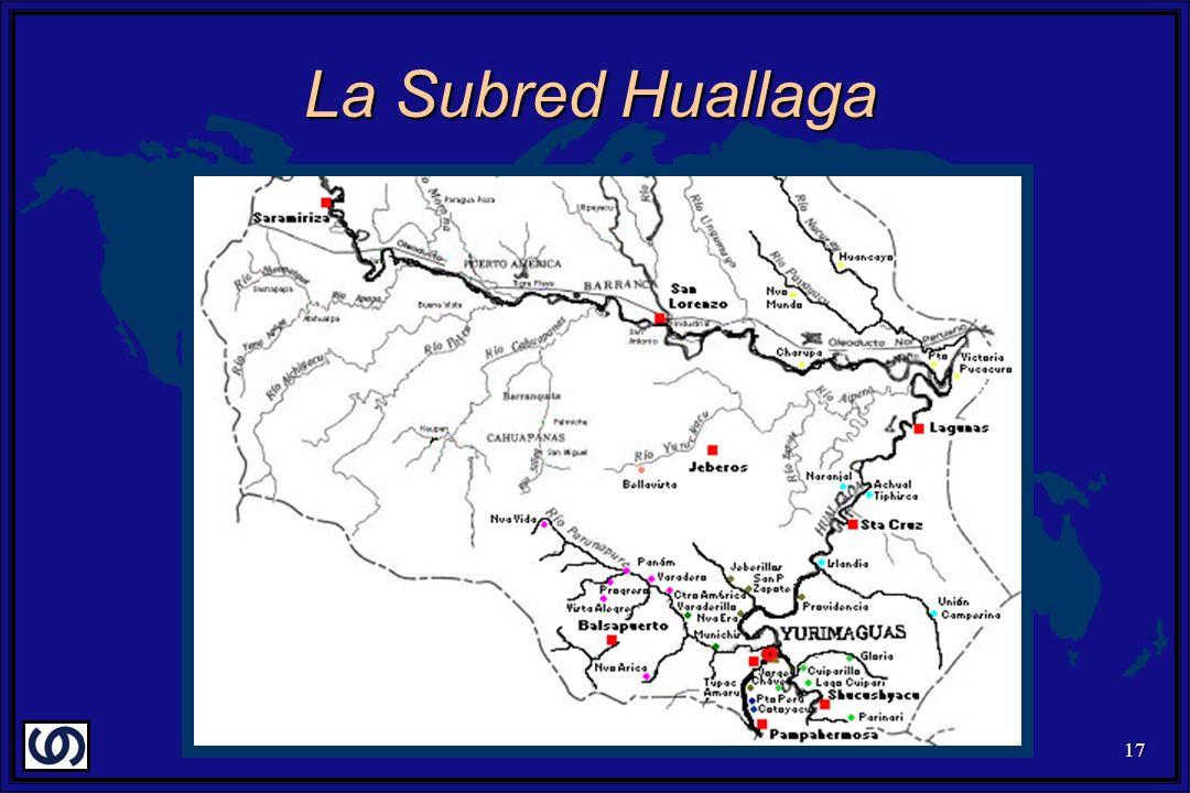 17 La Subred Huallaga