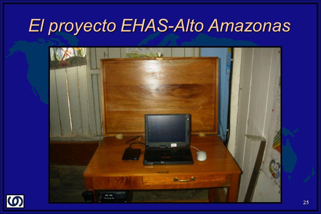 25 El proyecto EHAS-Alto Amazonas