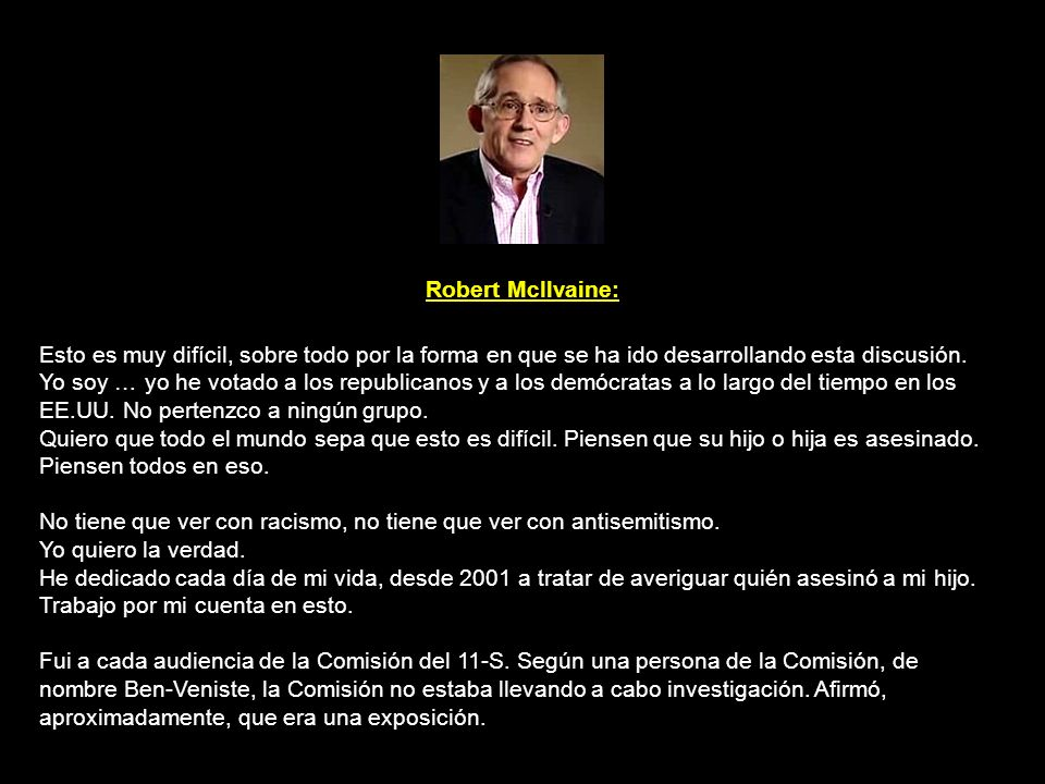 Bob McIlvaine Sr.