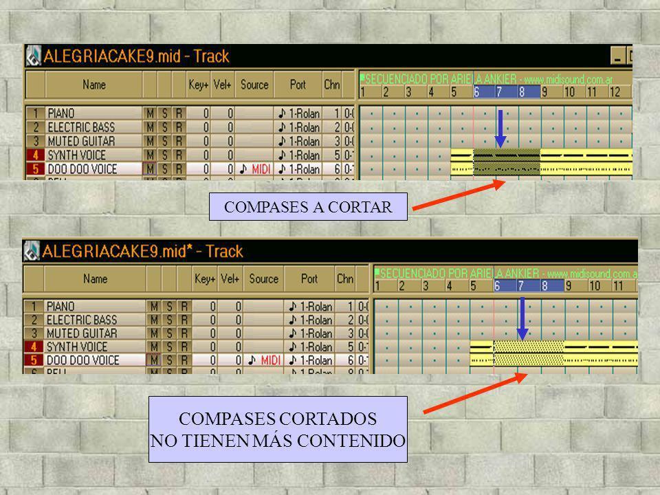 COMPASES A CORTAR COMPASES CORTADOS NO TIENEN MÁS CONTENIDO