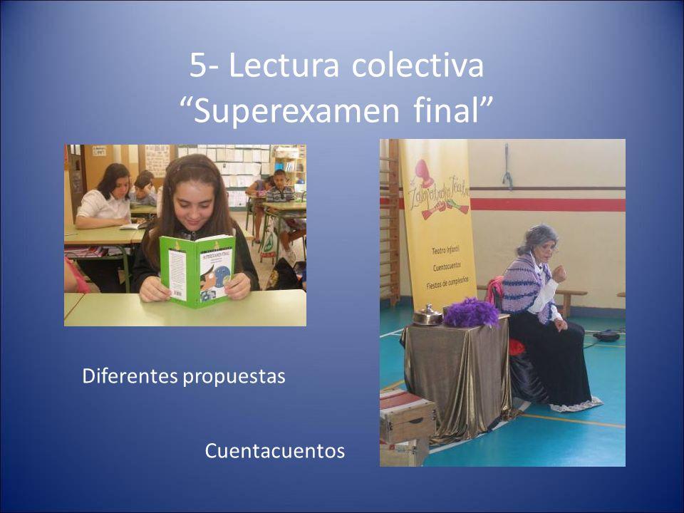 6- El mundo del kamishibai Alumnos leyendo El pájaro Puhuy a compañeros de Educación Infantil.