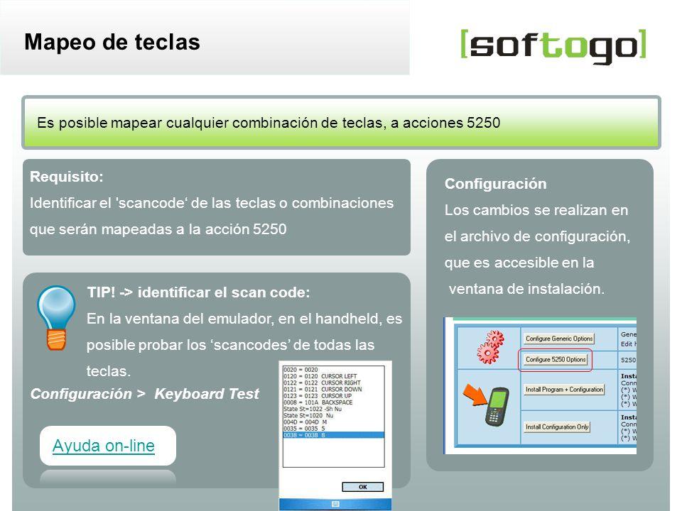 8WireLess TelNet – casos más comunes de configuración www.softogo.com ¿Cómo configurar el mapeo de teclas.