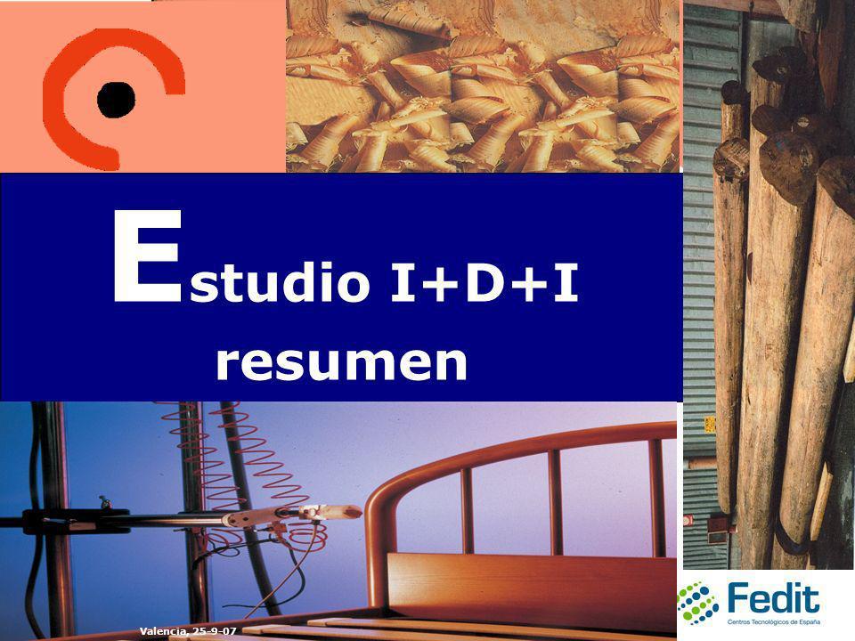 E studio I+D+I resumen Valencia, 25-9-07