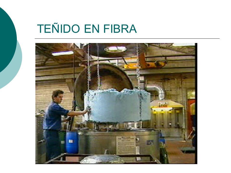 TEÑIDO EN FIBRA