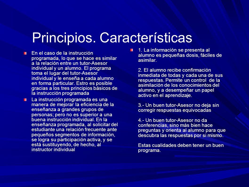Principios.