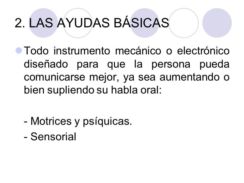 3. ALTERNATIVA EN PERSONAS CON: DEFICIENCIAS MOTRICES Y PSIQUICAS