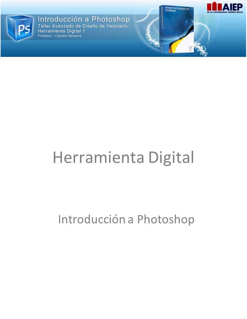 Herramienta Digital Introducción a Photoshop