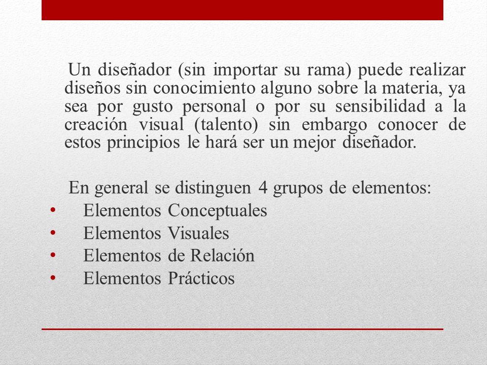 Un diseñador (sin importar su rama) puede realizar diseños sin conocimiento alguno sobre la materia, ya sea por gusto personal o por su sensibilidad a