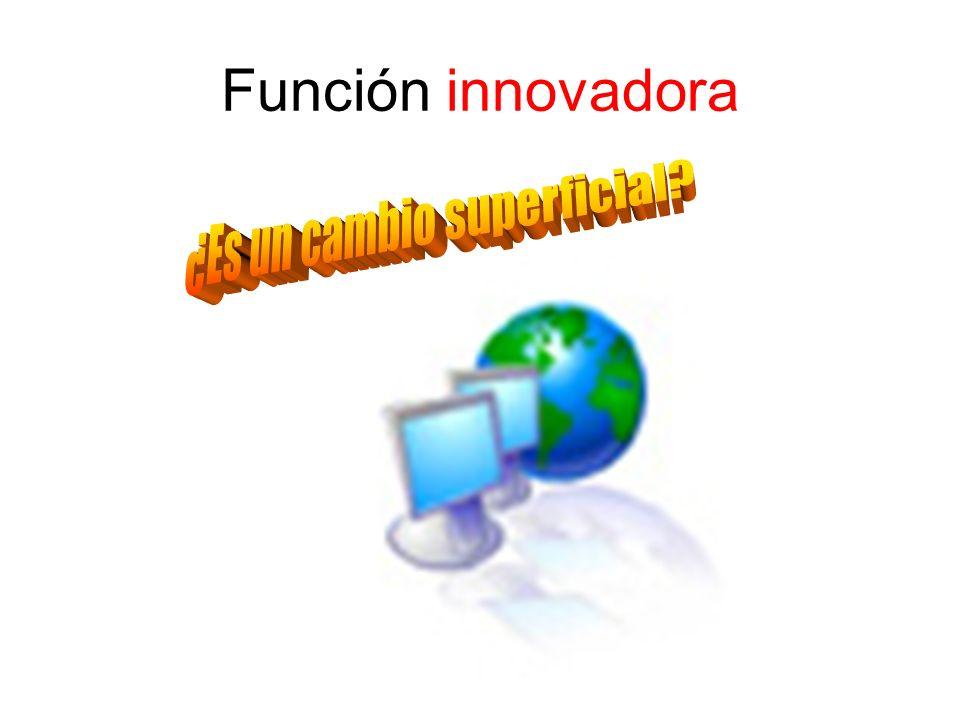 Facilitan y organizan las acciones formativas Guía metodológica Se adapta al nivel y necesidades de los alumnos Enseñanza asistida por ordenador