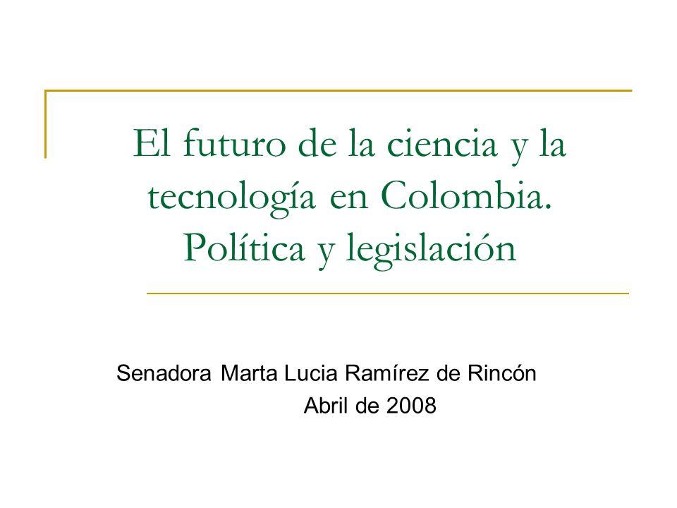 El futuro de la ciencia y la tecnología en Colombia.