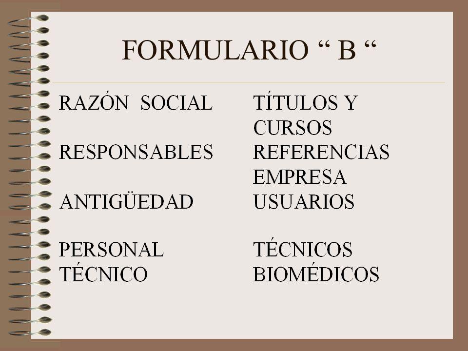 FORMULARIO B