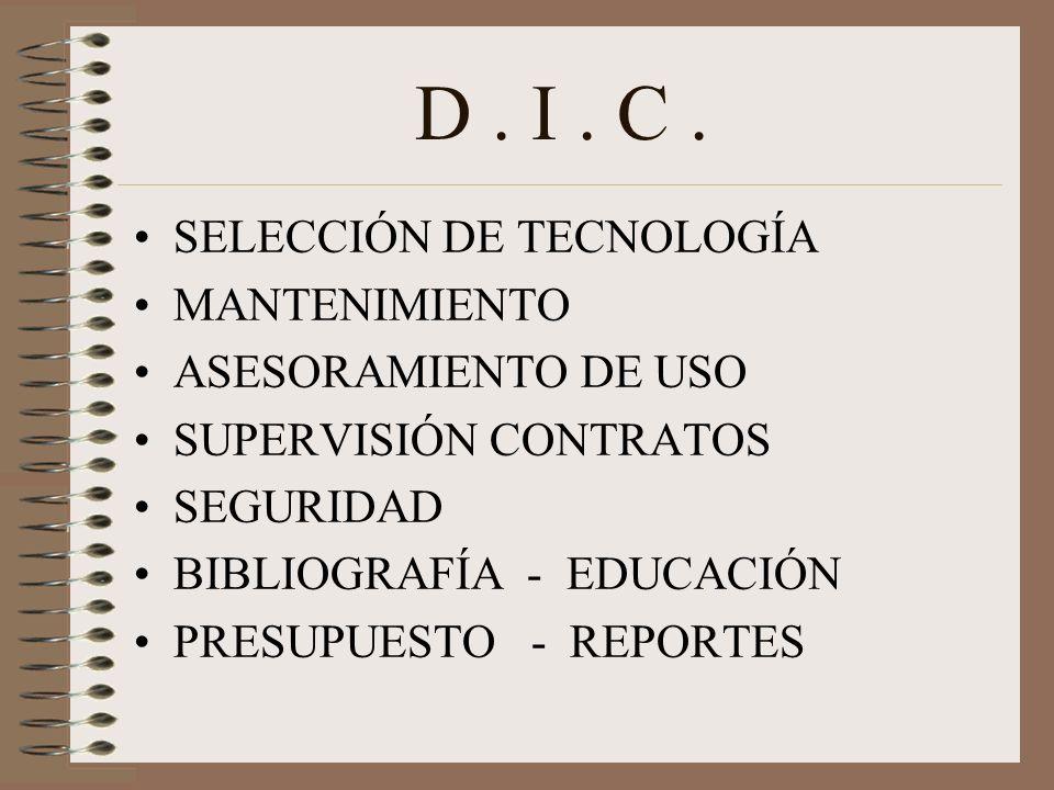 D. I. C.