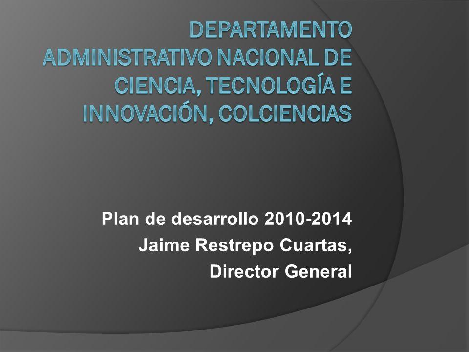 Ley 1286 de 2009 de ciencia, tecnología e innovación.