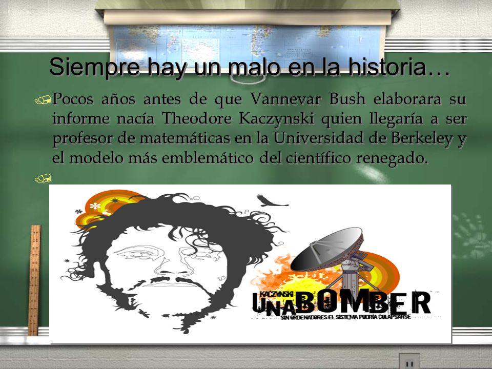 A finales de los años setenta abandona su brillante carrera científica y emprende otra carrera pública que le hace más famoso: la del terrorista anticiencia conocido como Unabomber.