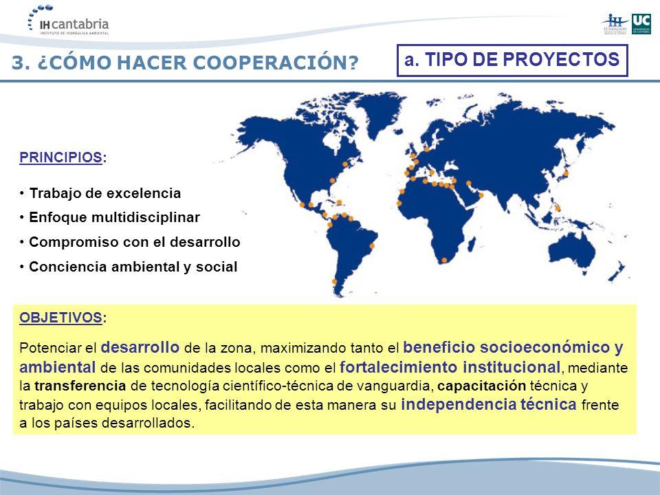 PRINCIPIOS: Trabajo de excelencia Enfoque multidisciplinar Compromiso con el desarrollo Conciencia ambiental y social OBJETIVOS: Potenciar el desarrol