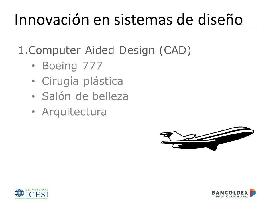 1.Computer Aided Design (CAD) Boeing 777 Cirugía plástica Salón de belleza Arquitectura Innovación en sistemas de diseño