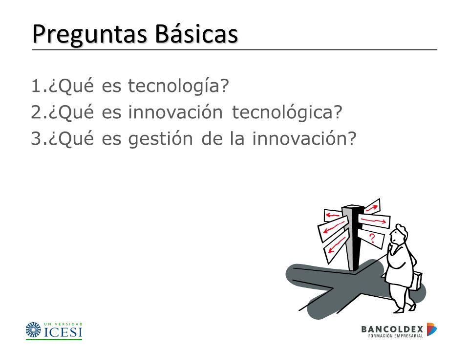 1.¿Qué es tecnología.2.¿Qué es innovación tecnológica.