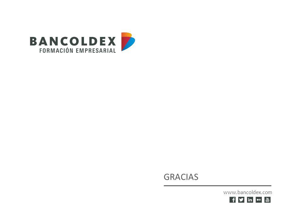 www.bancoldex.com GRACIAS